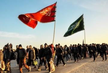 هدیه جاماندگان اربعین به زائران عراقی