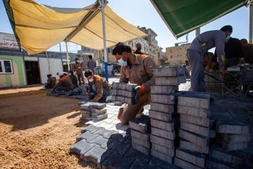 از سرگیری فاز دوم پروژه احداث صحن «الساقی»