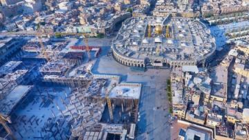 پیشرفت 68 درصدی عملیات اجرای سازههای بتنی صحن حضرت زینب (س)