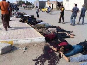 تروریست های داعش600 تن از قبیله البونمر را کشته اند