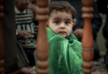 حضور کودکان زائر در خانه پدری/ گزارش تصویری