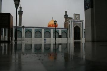 ترمیم و بازسازی بخشی از حرم حضرت زینب (س) در دمشق