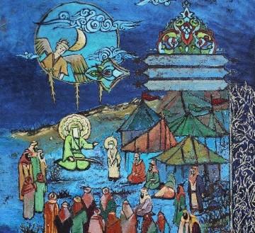 آثار هنرمند زنجانی در بخش تقدیری تصویرسازی دهمین سوگواره هنر عاشورایی