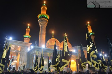عزاداری شیعیان اهل بیت (ع) در حرم مطهر کاظمین (ع)