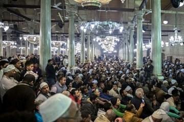 مراسم نمادین ورود سر مبارک امام حسین (ع) در مصر