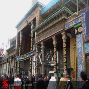 حال و هوای حرم حضرت عبدالعظیم در تاسوعا / ارسالی از خادمین افتخاری