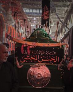 تشییع نمادین پیکر مطهر امام حسن (ع) در کربلا