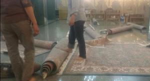 فرشی برای زیر پای زوار پهن کردهایم