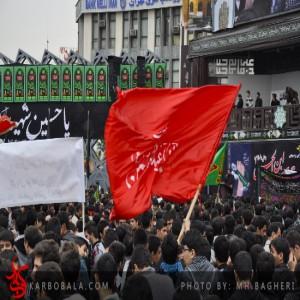 گزارش تصویری از تجمع هزاران نفری دانش آموزان در میدان امام حسین / اختصاصی کربوبلا