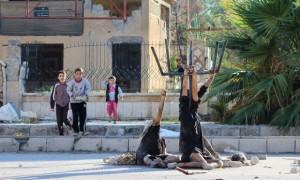 داعش دو تن از سران النصره را اعدام کرد /تصویر