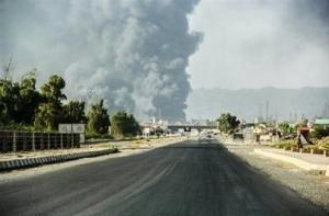 نیروهای ارتش عراق به مرکز شهر بیجی رسیدند