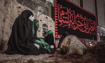 برپایی سفره حضرت رقیه (س) در شهر نجف اشرف