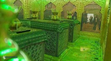 عکس هایی از ضریح جدید امامین عسکریین (ع)