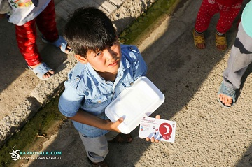 سفره افطار امام حسین (ع)؛ پناه پناهجویان