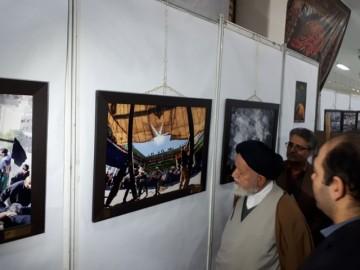 گشایش نمایشگاه بین المللی عکس سوگواره مهر محرم در سمنان