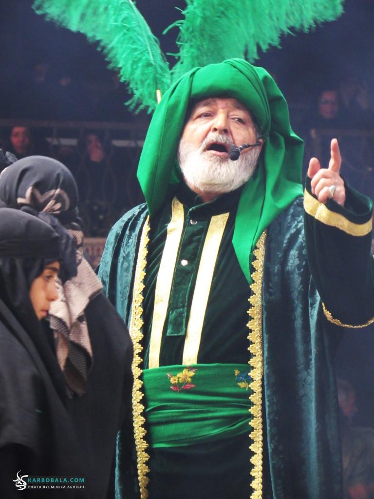 برگزاری تعزیه به مناسبت ایام شهادت اباعبدالله علیه السلام