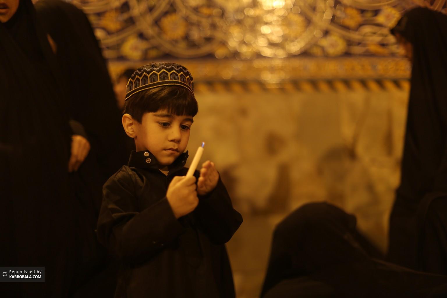 کودک عاشورایی در شام شهادت حسین بن علی علیه السلام