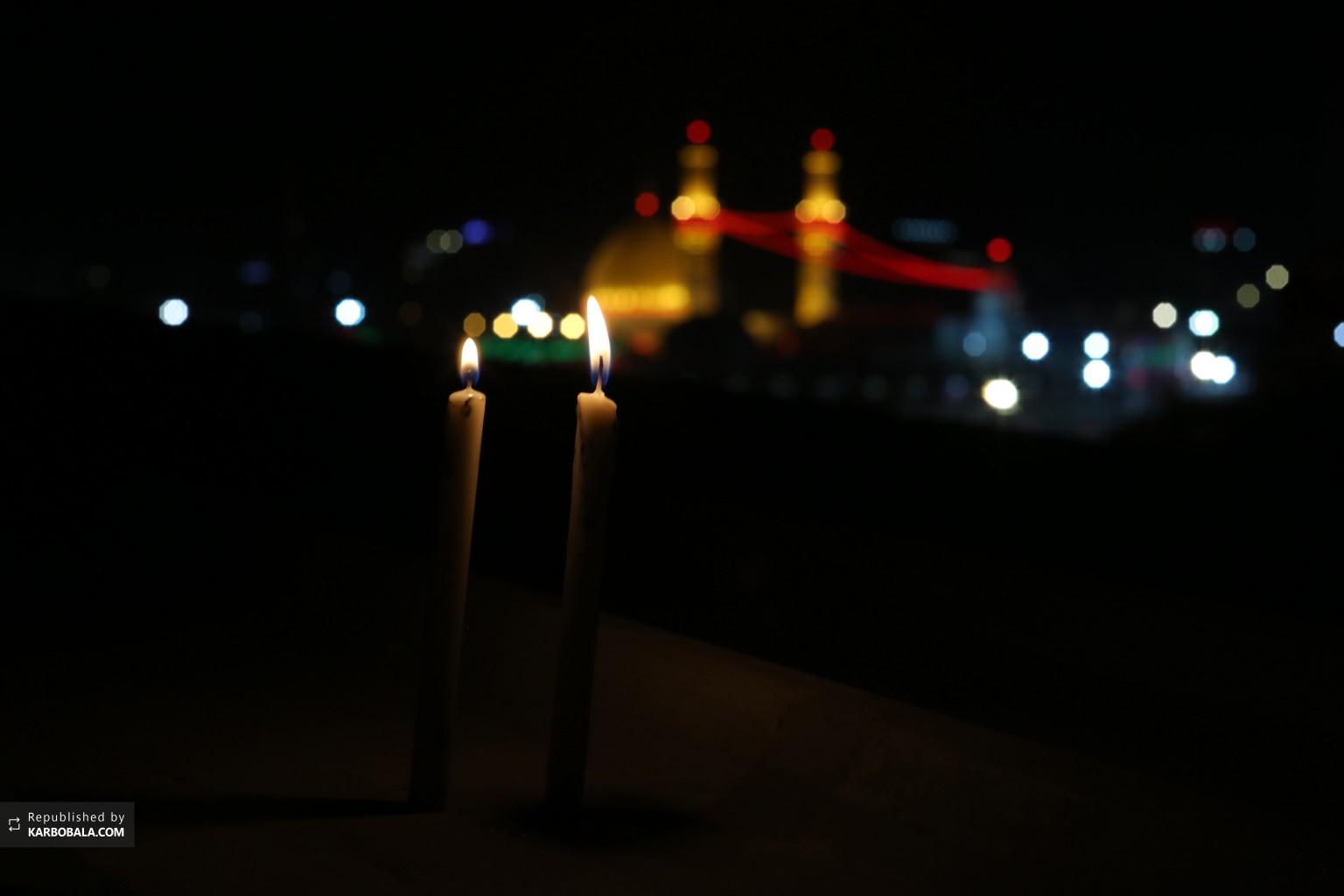 چون شمع در غم شما میسوزیم...