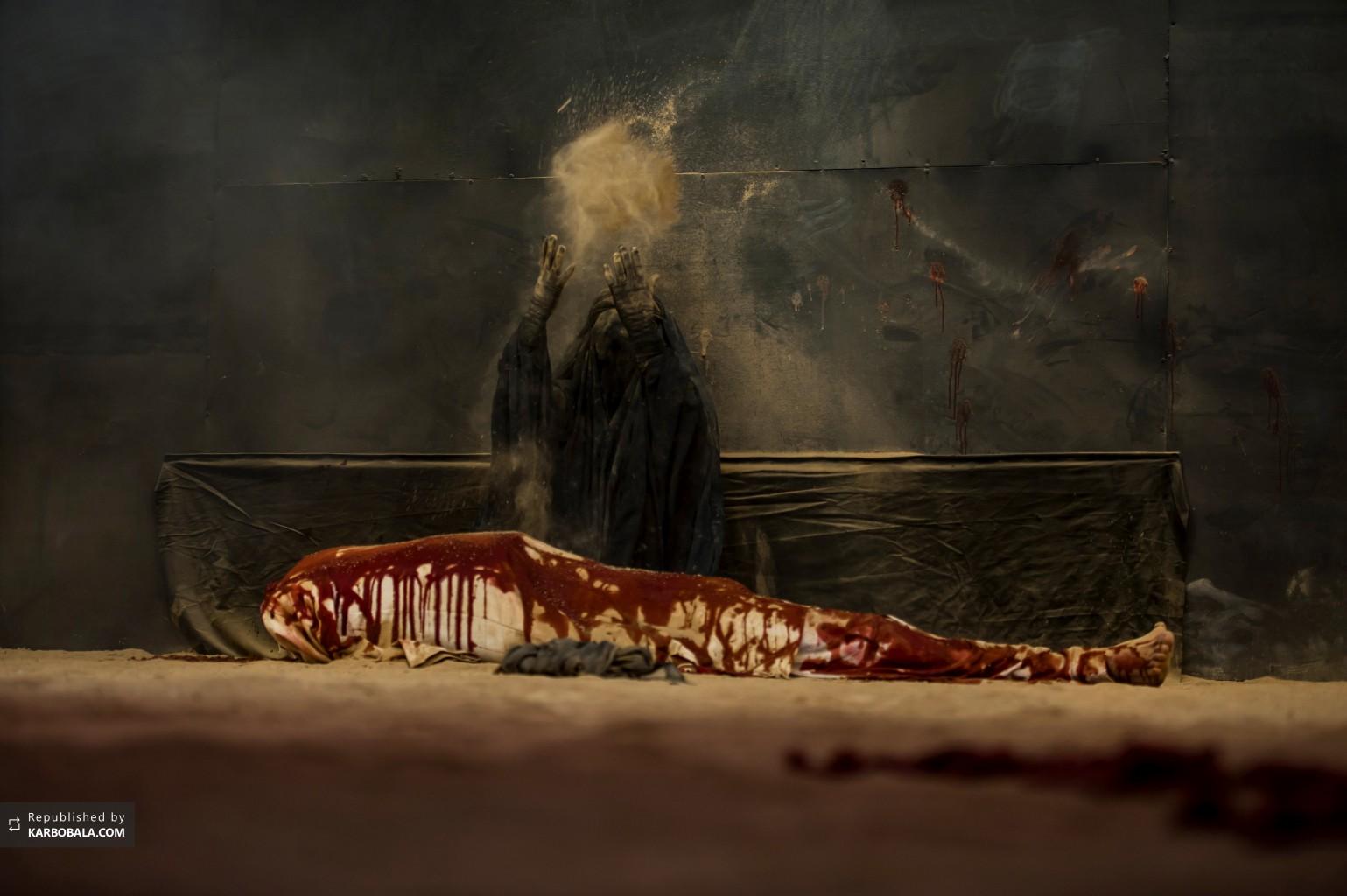 به تصویر کشیدن مقتل سیدالشهداء علیه السلام در کربلای معلی