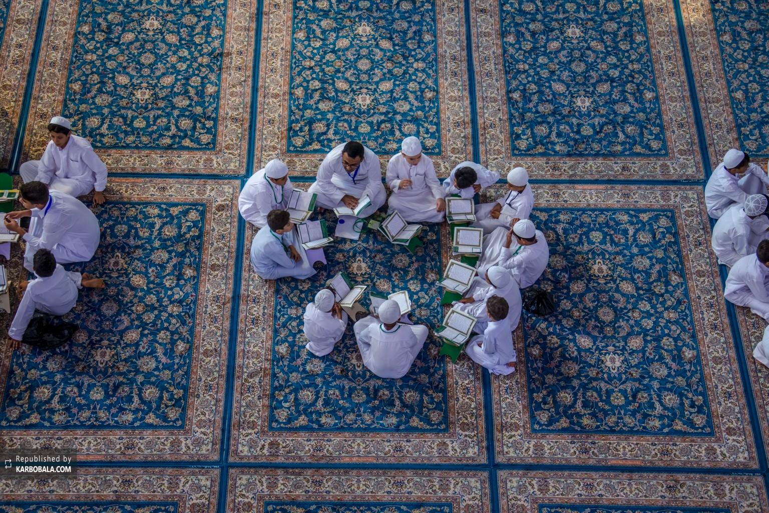 نوجوانان حسینی و آموزش تجوید و تلاوت قرآن