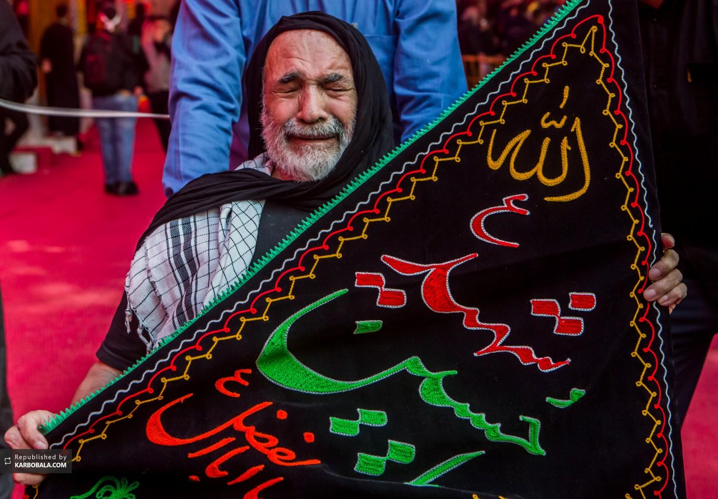 عزاداری پیرغلام حسینی در روز اربعین