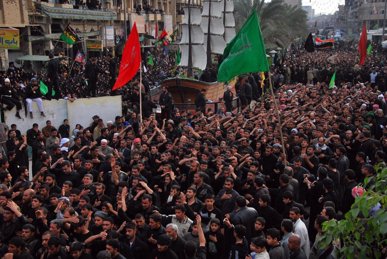 شور عزاداران حسینی در کربلا