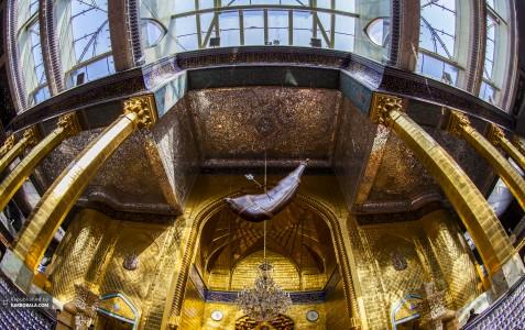 نمایی زیبا از قصر با شکوه سلطان ادب