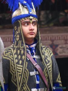 بازیگر تعزیه در نقش فرزند امام حسن علیه السلام