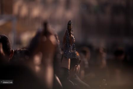 زنجیر زنی در روز عاشورای حسینی