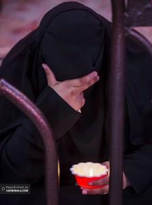بانوی عزادار در شب یازدهم محرم الحرام