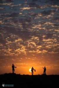 خورشید نظاره گر زوار سیدالشهداء علیه السلام