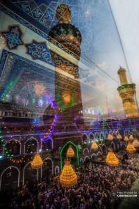 تصویری زیبا از جنت الحسین در کربلای معلی