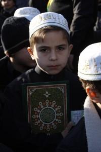 در پناه قرآن به عزاداری تو آمده ام