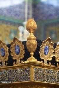 ضریح حضرت زینب سلام الله علیها